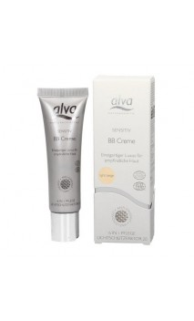 BB Cream bio Peau sensible Light Beige FPS 20 – Alva – 30 ml.