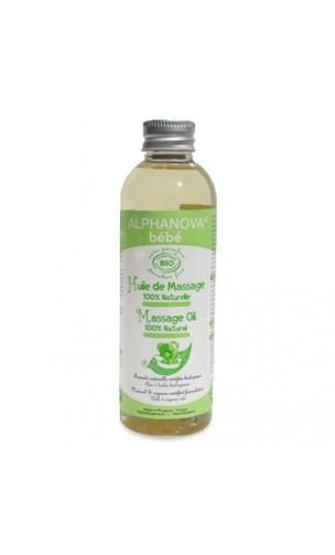 Aceite de masaje ecológico para bebé - Alphanova Bebé - 100ml