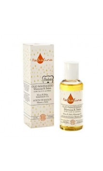 Huile de massage bio à l'huile d'avoine Maman & Bébé - NeBiolina - 100 ml