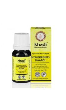 Huile capillaire bio antichute et revitalisante - Khadi - 10 ml.