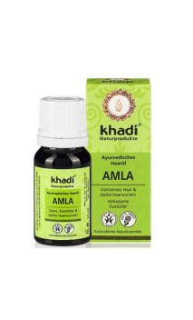 Huile capillaire bio Amla Antichute - Khadi - 10 ml.
