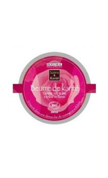Manteca de karité ecológica con Rosa Damascena Efecto Nutritivo y reparador – BIOFLORAL – 200 ml.