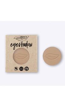 Recarga sombra de ojos ecológica Beige Mate 02 -PuroBIO - 2,5 gr.