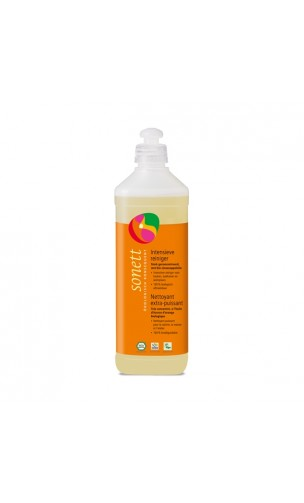 Nettoyant dégraissant BIO extra-puissant Orange - Sonett - 500 ml.