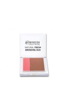 Polvo compacto bio bronceado natural Dúo California Nights - Benecos - 8 gr.