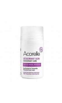 Déodorant bio Roll-on Spécial Peau sensible - Acorelle - 50 ml.