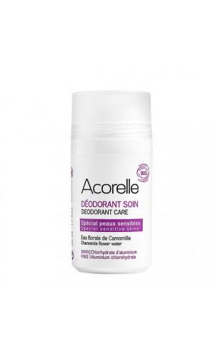 Desodorante ecológico Roll-on Especial Piel sensible - Acorelle - 50 ml.