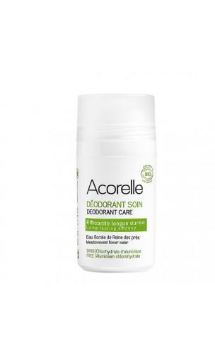 Déodorant bio Roll-on Efficacité Longue durée - Acorelle - 50 ml.