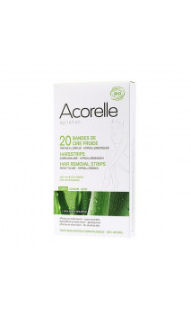 Bandes de cire froide Hypoallergéniques Prêtes à l'usage - Corps - Acorelle - 20 Ud.