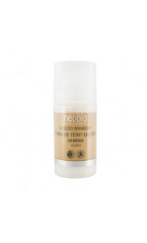 Base de maquillaje ecológica Fluida 02 Beige - Neobio - 30 ml.
