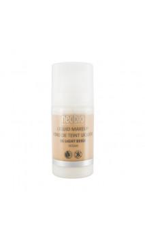 Base de maquillaje ecológica Fluida 01 Light Beige - Neobio - 30 ml.
