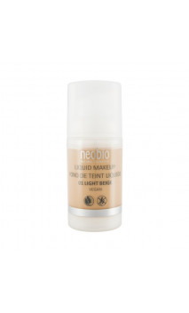 Fond de teint bio Fluide 01 Light Beige - Neobio - 30 ml.