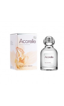 Eau de parfum Flor de Vainilla - Perfume bio Tranquilizante - Acorelle - 50 ml.