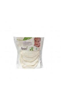 Disques démaquillants en coton bio - Réutilisables - Anaé- 4 Ud.