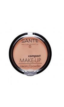 Maquillaje compacto ecológico Polvo / Crema 01 Vainilla - SANTE - 9 g.