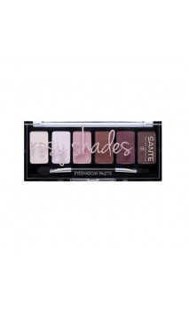 Paleta Sombra ojos ecológica 01 Rosy Shades  - SANTE - 6x1 g.