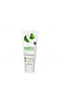 Dentifrice bio avec Fluor Menthe & Sauge bio - Neobio - 75 ml.