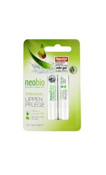 Bálsamo labial ecológico Tratante Intensivo - Neobio - 2 x 4,8 g.