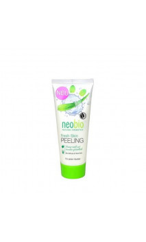 Peeling facial ecológico Menta & Aloe vera - Neobio - 100 ml.