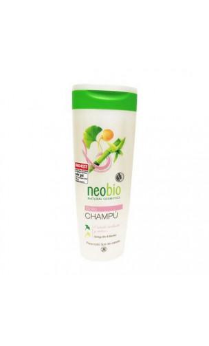 Shampooing bio Éclat Ginkgo & Bambou - Neobio - 250 ml.