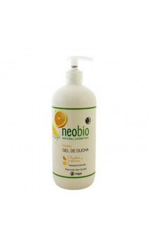 Gel douche bio Vitality Orange & Citron - Neobio - 500 ml.