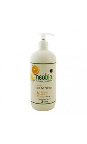 Gel de ducha ecológico Vitality Naranja & Limón - Neobio - 500 ml.