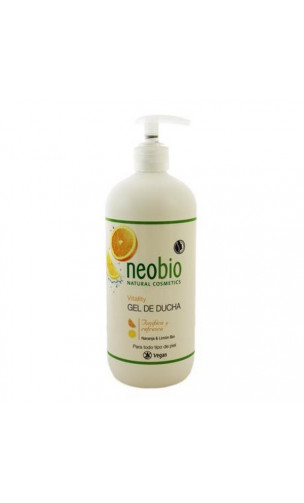 Gel Douche Bio Vitality Orange Citron Neobio 500 Ml Bioferta