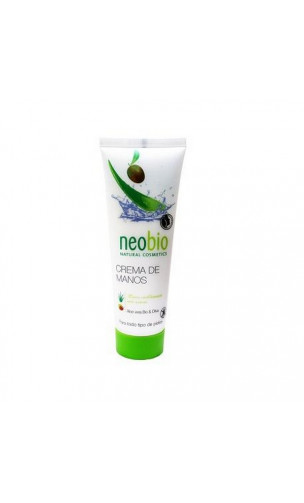 Crema de manos ecológica Suavizante - Neobio - 75 ml.