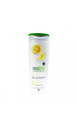 Gel douche bio Vitality Orange & Citron - Neobio - 250 ml.
