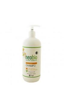 Shampooing bio Réparateur Lys & Moringa - Neobio - 500 ml.
