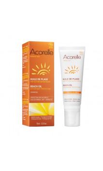 Aceite ecológico para la playa con Karanja - Acorelle - 75 ml.