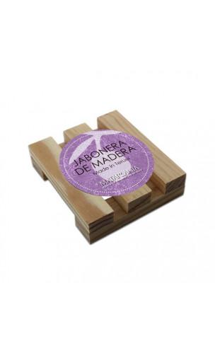 Support savon/shampooing solide bio en bois - Matarrania