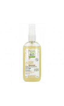 Aceite desmaquillante antiedad ecológico Précieux Argan - SO'BiO étic - 150 ml.