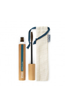 Mascara bio - Volume MARRON - Rechargeable - ZAO - 086 - 7ml.