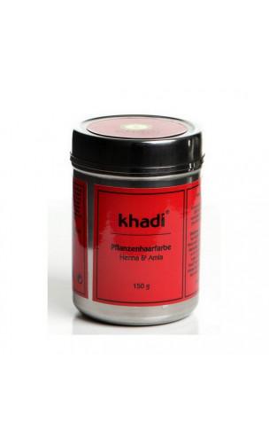 Henné  & Amla bio - Caoba - 100 naturelle - Khadi - 150 gr.