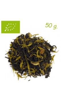 Thé vert Gingembre (Stimulant) - Thé bio en vrac - Aromas de té