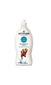 Liquide vaisselle bio concentré Ylang-Ylang, Lima & Fleurs Sauvages - Attitude - 700 ml.