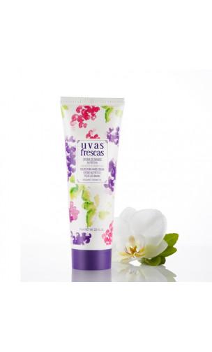 Crema de manos ecológica nutritiva Argán y Uva - Uvas Frescas - 75 ml.