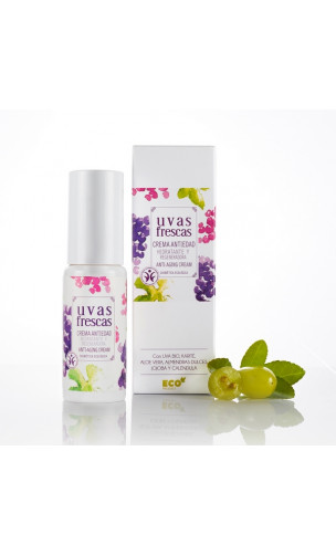 Crème hydratante Anti-âge BIO - Uvas Frescas (Raisin Frais) - 50 ml.