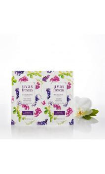 Duo de beauté naturelle Gel gommant & Masque visage - Uvas Frescas (Raisin Frais) - 10 ml.y  10 ml.