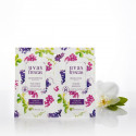 Dúo belleza natural Gel Exfoliante & Mascarilla facial - Uvas Frescas - 10 ml. y  10 ml.