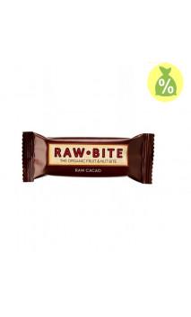Súperbarrita energética ecológica Cacao - Raw Bite - 50 gr.