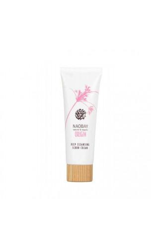 Crema Exfoliante Facial Limpieza Porfunda (Deep Cleansing Scrub Cream) - ORIGIN - NAOBAY - 75 ml.