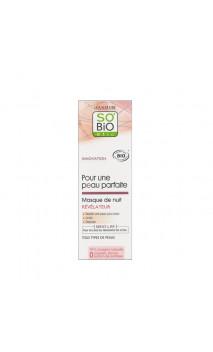Masque de nuit bio Révélateur - Pour une peau parfaite - So'Bio Étic - 50 ml.