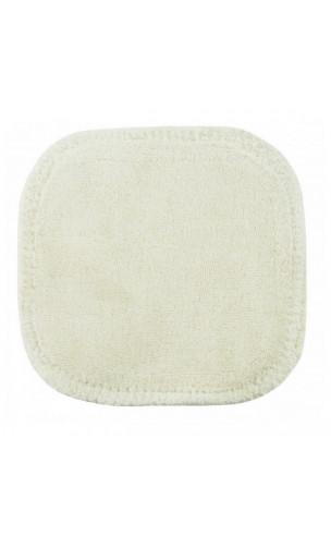 Carré démaquillant lavable en coton bio - Avril