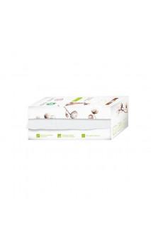 Lingettes SÈCHES pour bébé BIO et douces - Rouleau - Coton bio - BOCOTON - 50 Ud.
