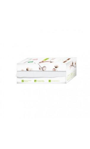 Lingettes SÈCHES pour bébé BIO et douces - Coton bio - BOCOTON - 50 Ud.