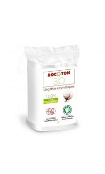 Lingettes SÈCHES bio Démaquillantes & Soin - Coton bio - BOCOTON - 60 Ud.