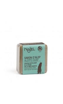 Jabón de Alepo natural con barro del Mar Muerto - Jabón exfoliante suave - Najel - 100 g.