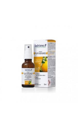Spray d'ambiance naturel Pur'Agrumes - Ladrôme - 30 ml
